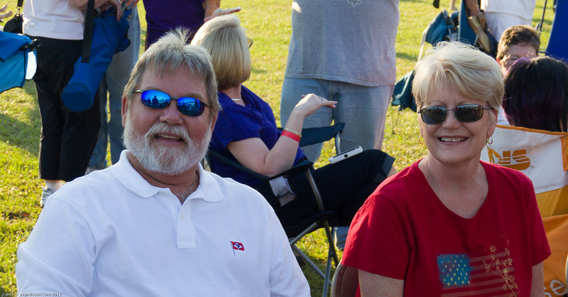 Bill Moore and Cindy Douglas