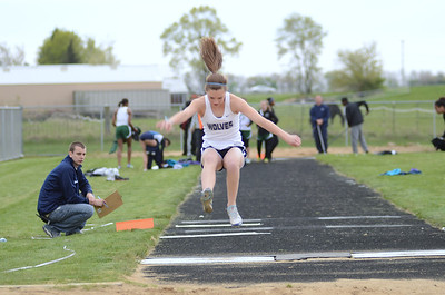 Oswego East GirlsTrack and Field Senior Night 2012