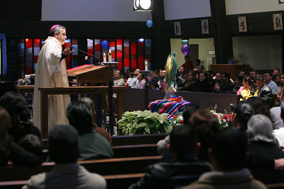 Our Lady of Guadalupe 2005 with Bishop Euesbio Elizondo