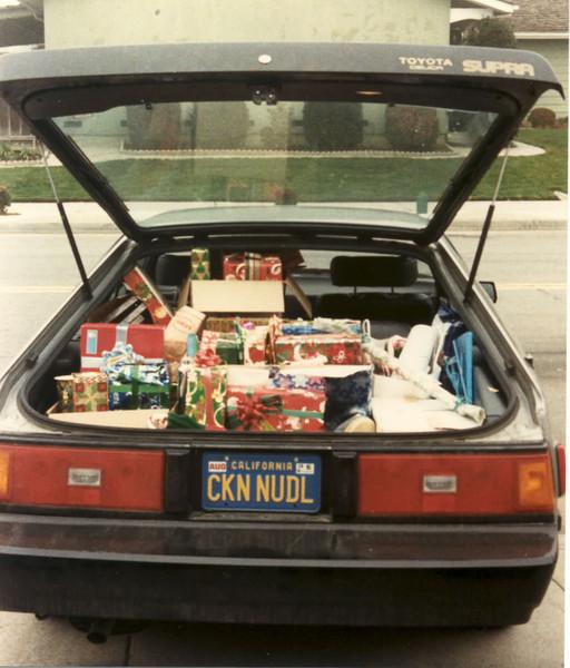 1984 Ellen's Supra xmas morning