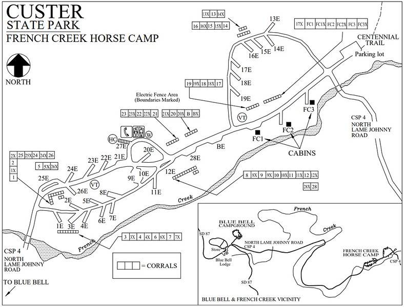 Custer State Park (French Creek Horse Camp)