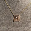 'Joys I Double, Sorrows I Divide' 18kt Rose Gold Cast Pendant, by Seal & Scribe 8
