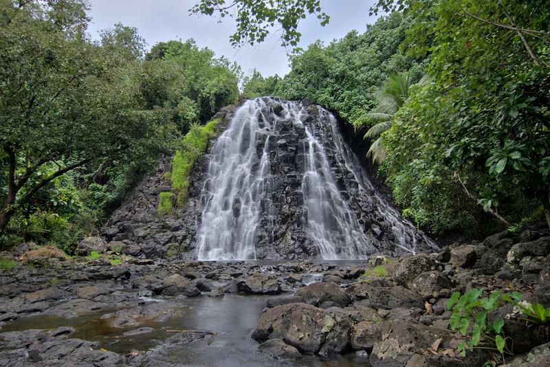 Kepirohi  Waterfall HDR - Pohnpei, FSM