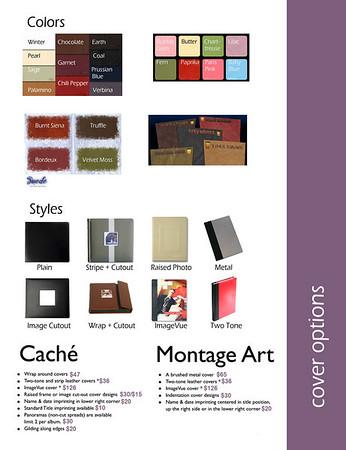 Album Design Worksheets