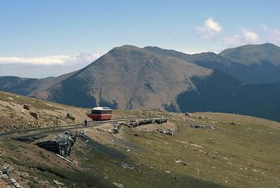 Colorado: Manitou & Pike's Peak Railway, 2008