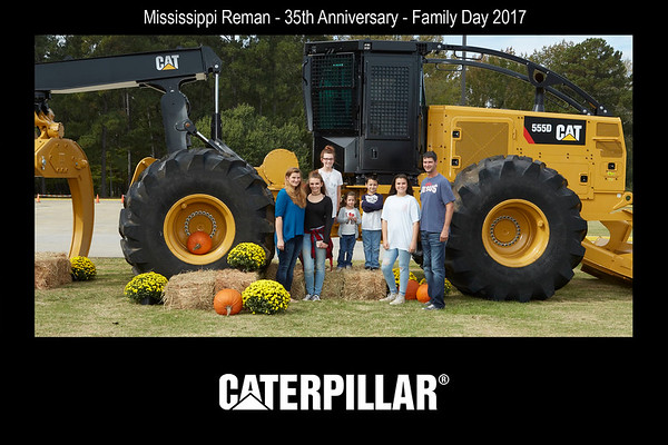 Caterpillar Mississippi Reman Family Day 2017