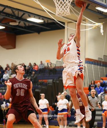 Penn Yan Basketball 2-9-18