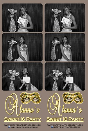 Alanna`s Sweet 16 Party