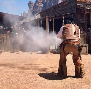 Shootout at Goldfield Ghost Town