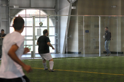 Soccer tryout