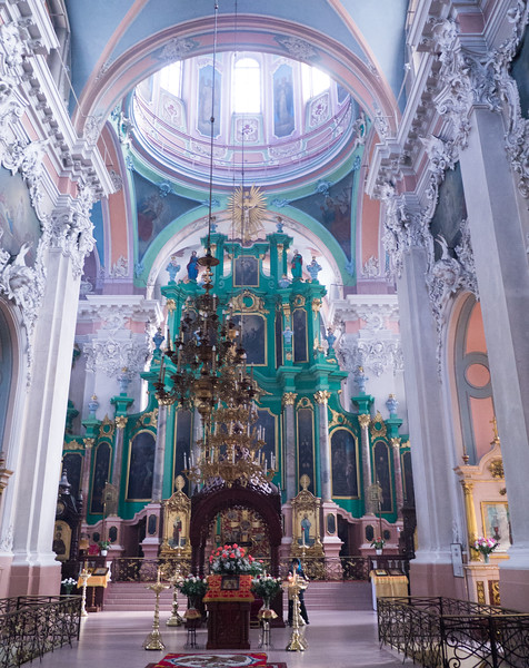 Saint Nicholas church in central Vilnius