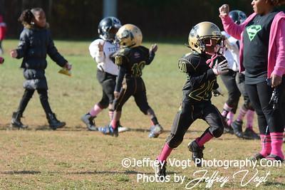 10-17-2015 Montgomery Village Sports Association Chiefs Super Tiny Mites vs Ridge Road Titans, Photos by Jeffrey Vogt Photography