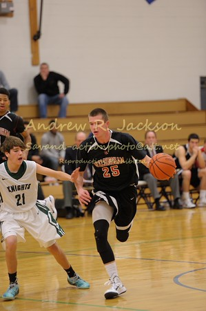 1-3-15 Basketball- Boys- Walsingham vs Greenfield