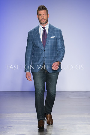 FW20 - Blue Jacket Fashion Show