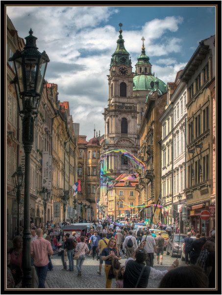Bubbles, Prague, Czech Republic.