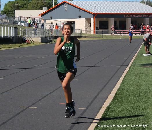 Burnet HS girls track @ Llano