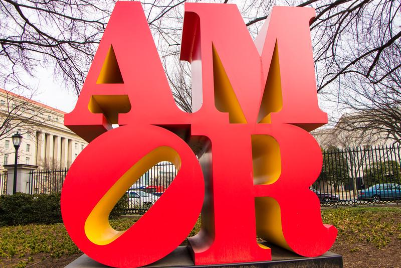 Valentine's Day at the Sculpture Garden