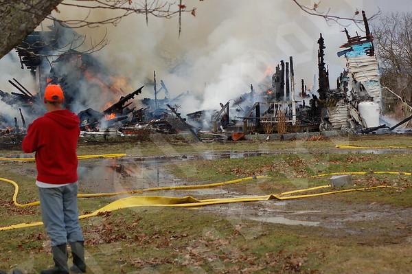 Eastbrook Fire; November 29th, 2011