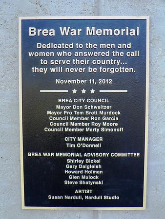 Brea Vet Memorial