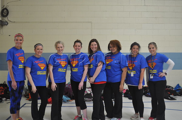 Teacher Scholar Volleyball Game