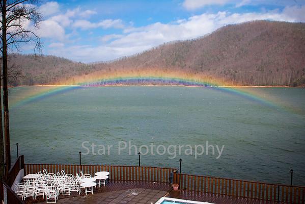 Rainbow At Watauga Lake 02-26-13