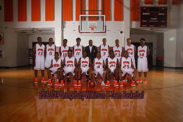 2018-2019 Boys B-Team Basketball