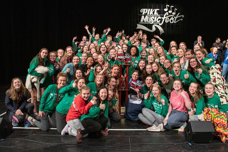 2019-2020 Zionsville Show Choirs