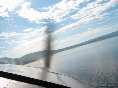 RV-6 to Thunder Ridge - Aug. 2005
