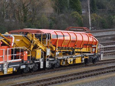 YDA-E - P & T  Serco-Rail RM90-NR Rail Ballast Cleaner Hopper Wagon
