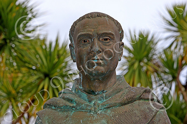 Junipero Serra Statuary Pictures [1713-1784]: Spanish Franciscan Friar Who Founded a Chain of Missions in California