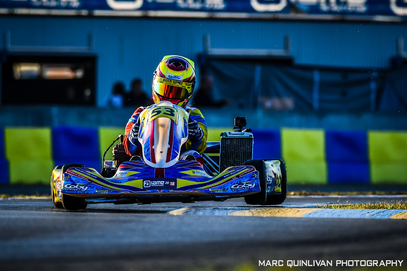 IAME International Final 2018 - Day 3 (08/10) - Alyx Coby