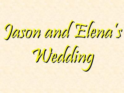 Jason and Elena's Wedding