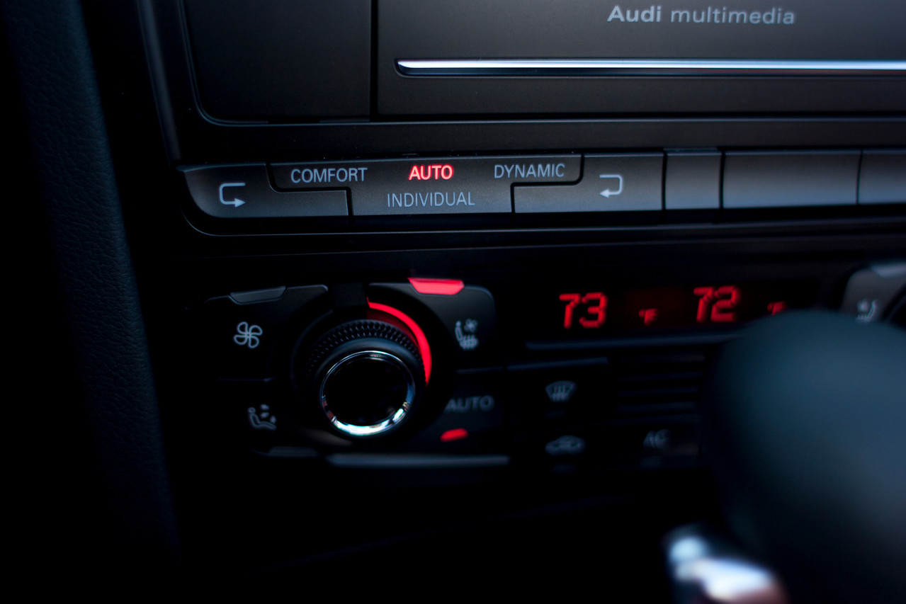 Sports rear differential controls (same as Audi Drive Select controls).