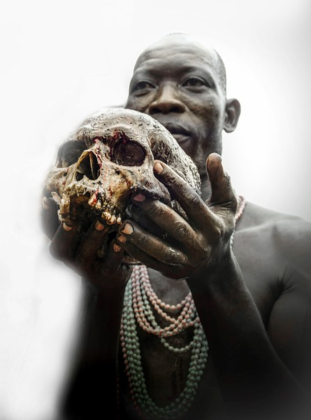 BENIN - Ceremonia de Vudú
