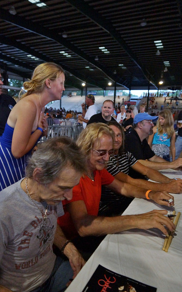 FOGHAT MEET AND GREET AT THE GULF COAST RIBFEST 2013