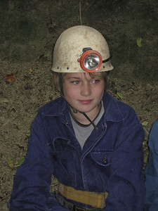 Scout caving trip