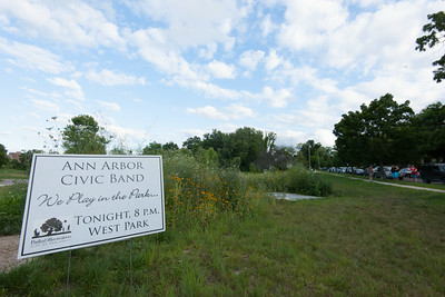 Ann Arbor Civic Band - July, 2014