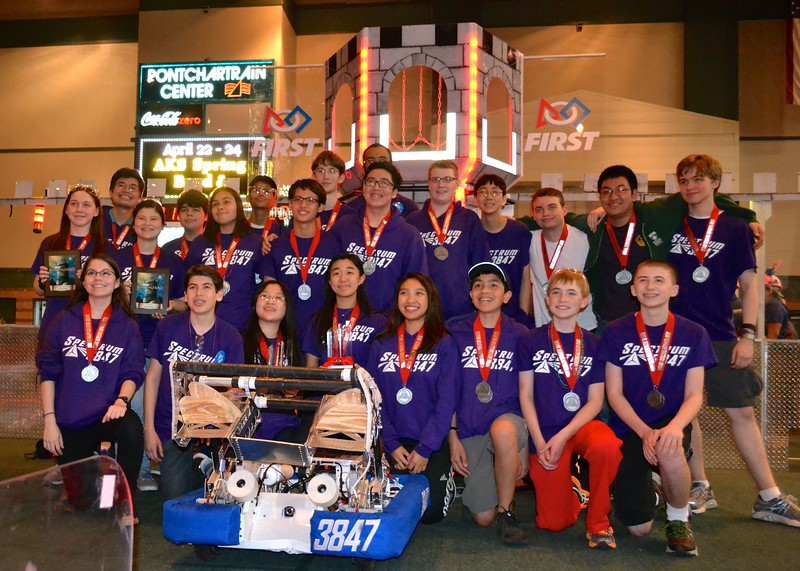 2016 FIRST Bayou Regional Robotics - Spectrum 3847 - 940