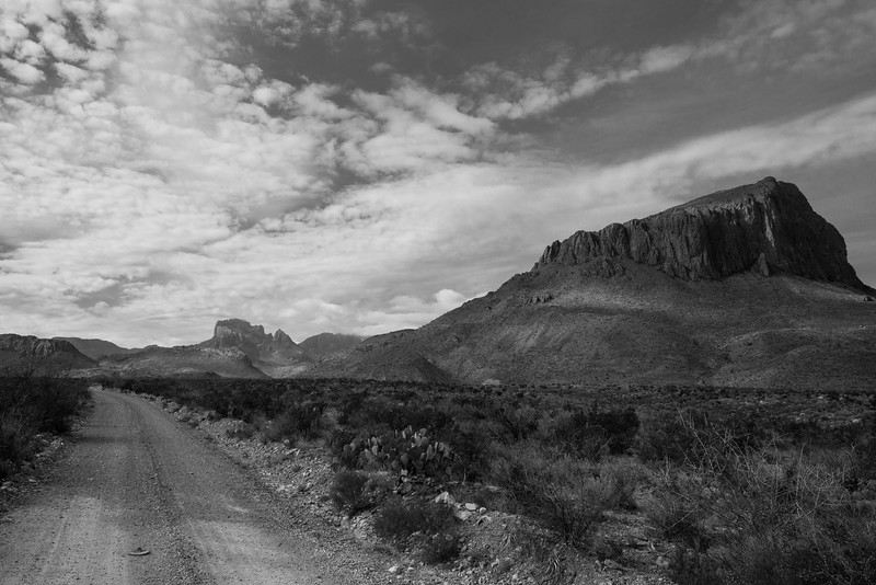 into the Chisos