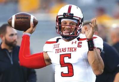 Texas Tech QB Patrick Mahomes II To Enter NFL Draft