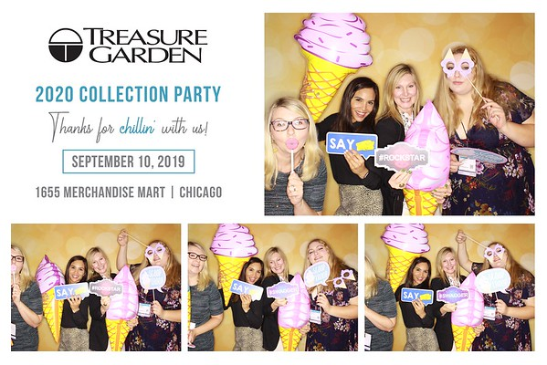 "Treasure Garden ""2020 Collection Party"""
