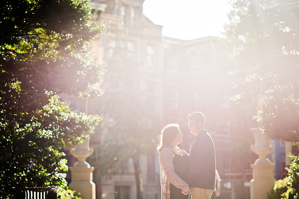 Arianna and Zach - Family and Engagement Session