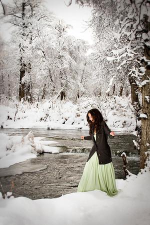 Kierra in the Snow