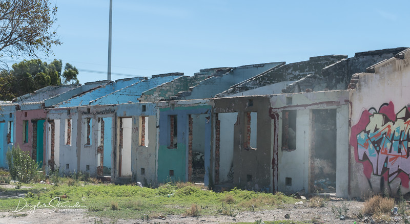 Abandoned apartheid housing