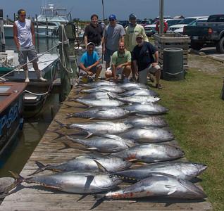Nags Head Tuna Fishing Day 1