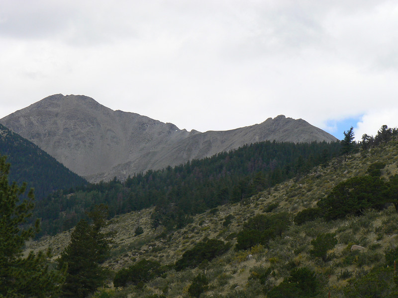 east ridge - note climber.JPG