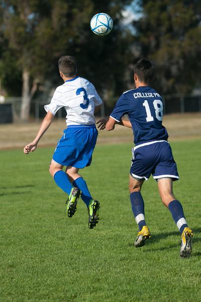 RCS Varsity Boys' Soccer vs CP - 10.09.12