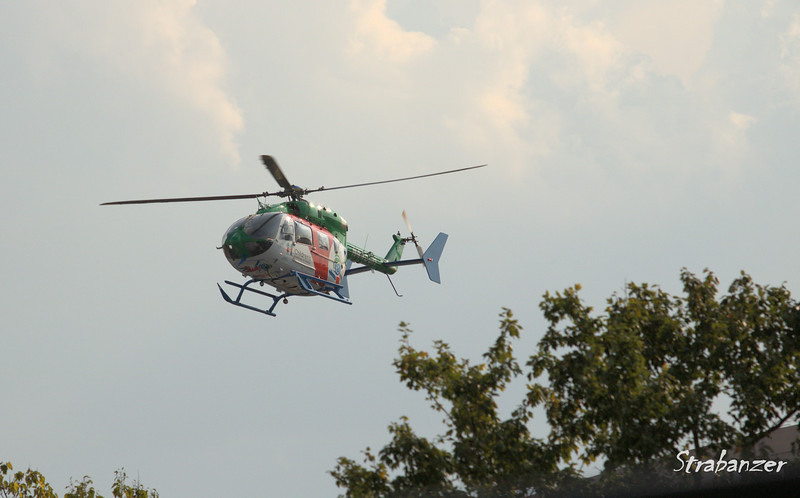 Airbus Helicopters ec145 Serial 9729 N445CH EGLESTON CHILDRENS HOSPITAL AT EMORY UNIV INC  KPDK, DeKalb, GA,   09/22/2017 This work is licensed under a Creative Commons Attribution- NonCommercial 4.0 International License