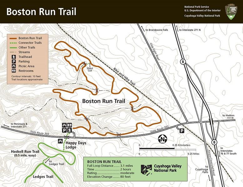 Cuyahoga Valley National Park (Boston Run Trail)