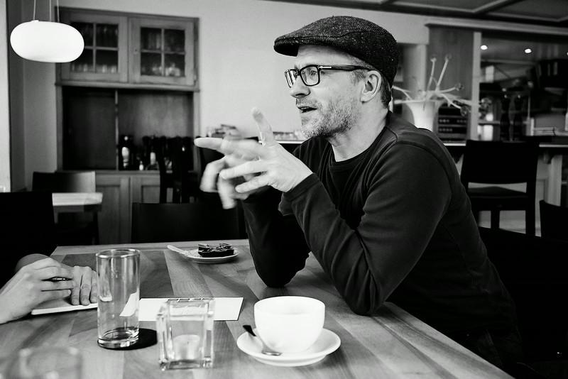Journalist, Autor und Traumfänger Bruno Bötschi im Gespräch mit Thurgaukultur.ch.